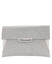 Janette Glitter Envelope Clutch