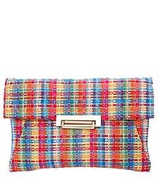 Janette Tweed Envelope Clutch