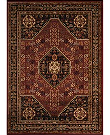 """Asbury ASB21 Red 7'10"""" x 10'6"""" Area Rug"""