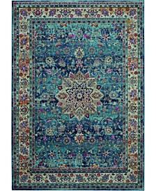 Era Tabriz ERA01 Blue 4' x 6' Area Rug