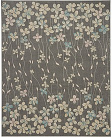 "Peace PEA04 Gray 8'10"" x 11'10"" Area Rug"