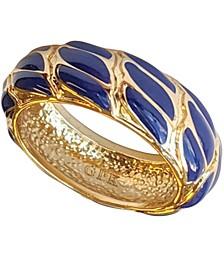 18k Gold Plated Enamel Woven Ring