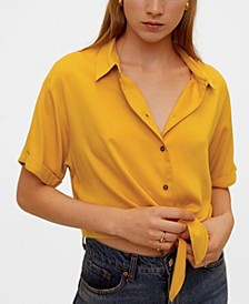 Knot Front Shirt