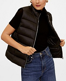 Satin Quilted Gilet