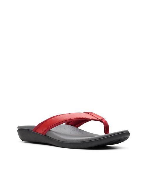 Clarks Cloudsteppers Women's Brio Sol Flip-Flop Sandals