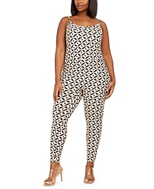 Trendy Plus Size Jumpsuit