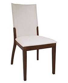 Luisa Upholstered Back Side Chair, Set of 2