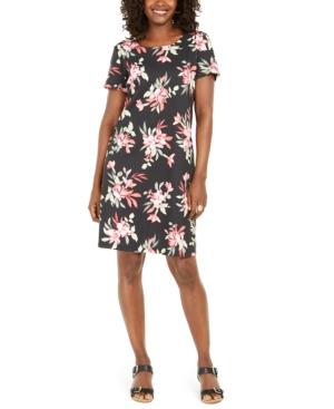 Karen Scott Bali Bliss Printed Dress, Created for Macy's