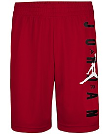 Big Boys Vertical Logo Mesh Shorts
