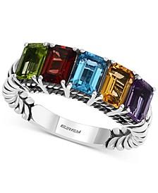 EFFY® Multi-Gemstone Statement Ring (2-7/8 ct. t.w.) in Sterling Silver
