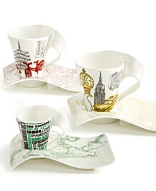 Dinnerware,  New Wave Cafe Cities of Europe Collection