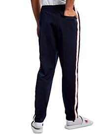 Men's Logo-Stripe Track Pants