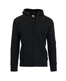 Men's Fleece-Lined Zip Hoodie