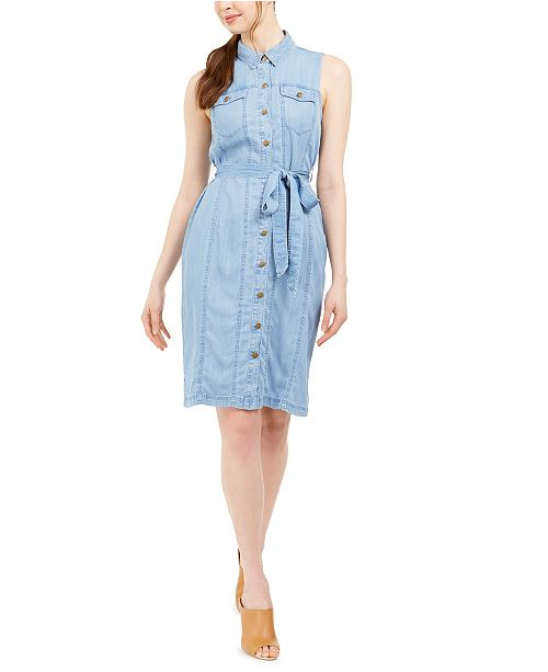 Calvin Klein Denim Shirtdress