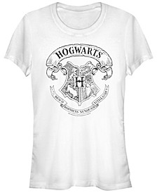 Harry Potter Hogwarts School Crest Women's Short Sleeve T-Shirt