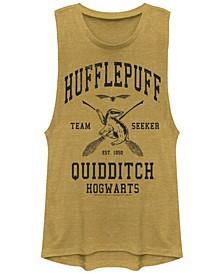 Harry Potter Hufflepuff Quidditch Team Seeker Festival Muscle Women's Tank