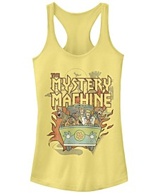 Scooby-Doo Metal Mystery Machine Women's Racerback Tank