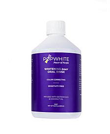 POPWHITE Whitening Toner Oral Rinse, 16.9 fl oz