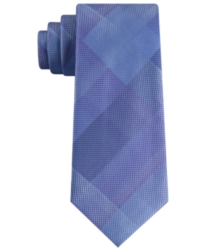 Kenneth Cole Reaction Men's Illusion Classic Plaid Tie