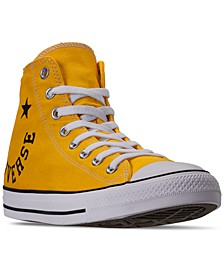 Men's Chuck Taylor All Star Smile High Top Casual Sneakers from Finish Line