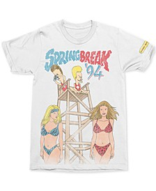 Beavis & Butt-Head Spring Break Men's Graphic T-Shirt