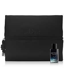 Receive a complimentary Dior Men's Pouch and Sauvage Eau de Parfum Mini Deluxe with any $150 Dior Men's Fragrance Purchase