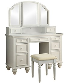 Izadine Multi-Drawer Vanity Set