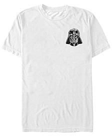 Star Wars Men's Vader Detailed Pocket Helmet Short Sleeve T-Shirt