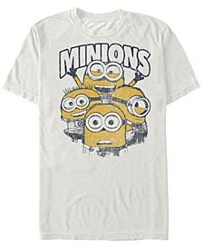 Minions Men's Group Short Sleeve T-Shirt