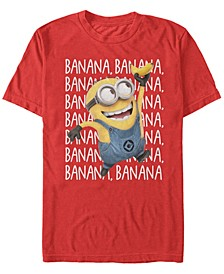 Minions Men's Gone Bananas Short Sleeve T-Shirt