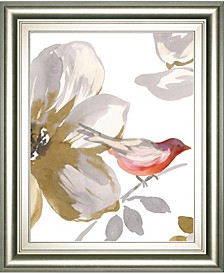Bird Chatter by Sandra Jacobs Framed Print Wall Art Collection