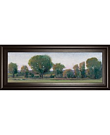 Panoramic Treeline by Tim Otoole Framed Print Wall Art Collection