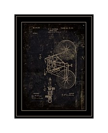 Trendy Decor 4U Motor Bike Patent by Cloverfield Co, Ready to hang Framed Print Collection