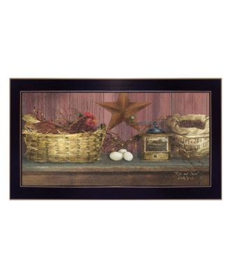 Rise and Shine by Billy Jacobs, Ready to hang Framed Print, Black Frame, 20