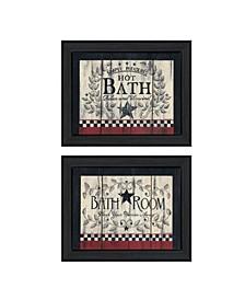 Trendy Decor 4u Hot Bath 2-piece Vignette by Linda Spivey Collection Collection