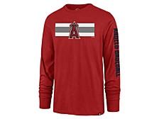 Los Angeles Angels Men's Cross Stripe Long Sleeve T-Shirt