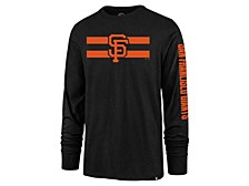 San Francisco Giants Men's Cross Stripe Long Sleeve T-Shirt