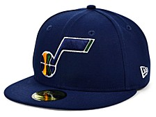 Utah Jazz The Circle Patch 59FIFTY-FITTED Cap