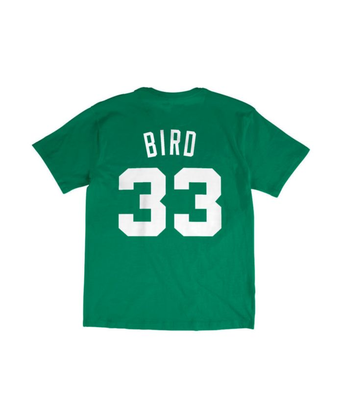 Mitchell & Ness Boston Celtics Men's Larry Bird Hardwood Print Player T-Shirt & Reviews - Sports Fan Shop By Lids - Men - Macy's