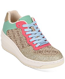Rillie Low Wedge Sneakers
