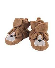 Baby Girls and Boys Dog Cozy Fleece Booties