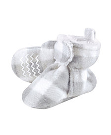 Hudson Baby Baby Girls and Boys Cozy Fleece and Sherpa Booties