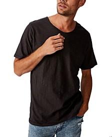 Men's Slub V Neck T-Shirt