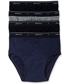 Men's Classic Collection Low-Rise Briefs 4-Pack