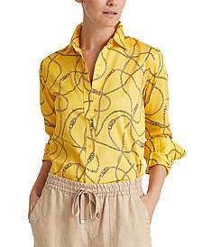 Glossy Sateen Shirt