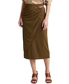 Wrap-Style Skirt