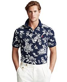 Men's Big & Tall Classic-Fit Bear Polo Shirt