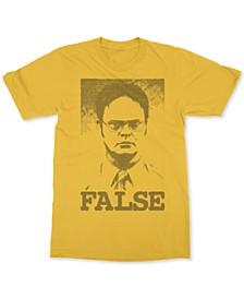 Dwight Schrute False Men's Graphic T-Shirt