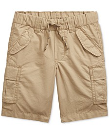 Little Boys Cotton Ripstop Cargo Shorts