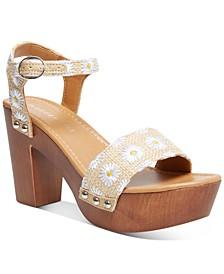 Lift Platform Sandals